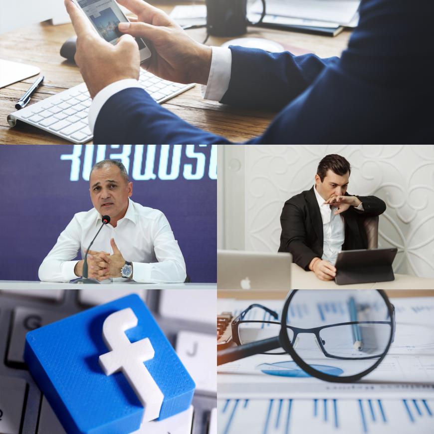 Ֆեյսբուքյան թոփ 10 լրատավական կայքերում քաղաքական գործիչների վերաբերյալ ցուցանիշներ (մայիս)